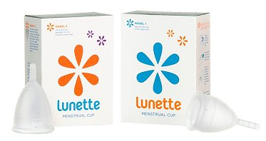 Lunette Menstrual cup S